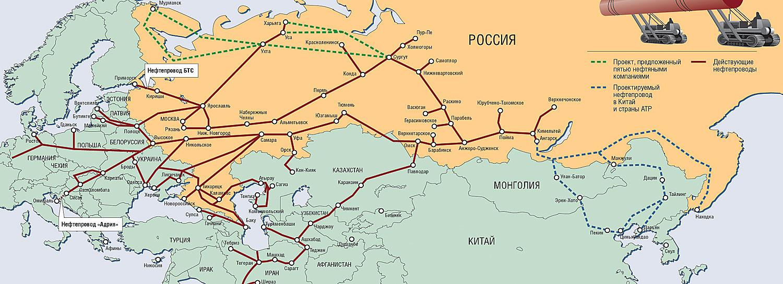 """Строительство трубопроводов в 3-5 раз быстрее...  Крупными нефтепроводами является нефтепровод  """"Дружба """"..."""
