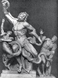 Искусство эпохи Эллинизма - Агесандр, Полидор и Афинодор.  Лаокоон.