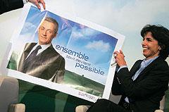 Пресс-секретарь Никола Саркози Рашида Дати (на фото) сумела убедить патрона, что вместе с ней все становится возможным