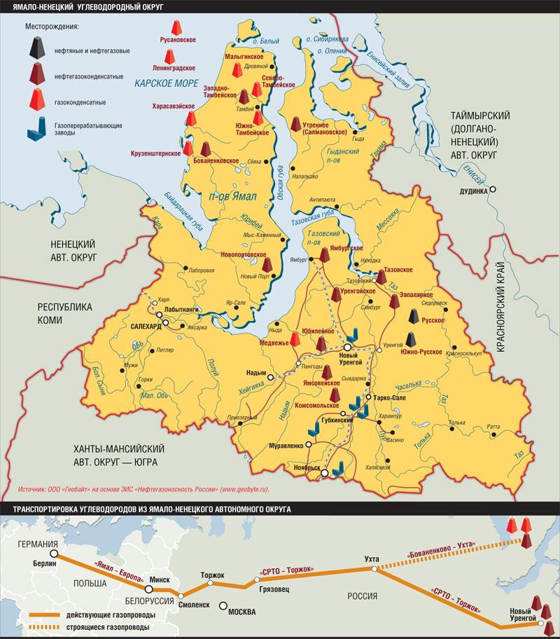 Ямало-Ненецкий углеводородный округ